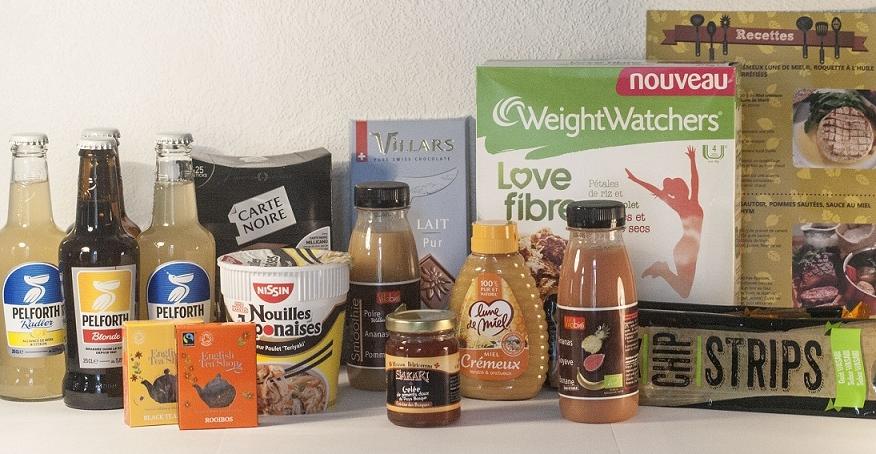 degustabox, box, alimentaire, culinaire