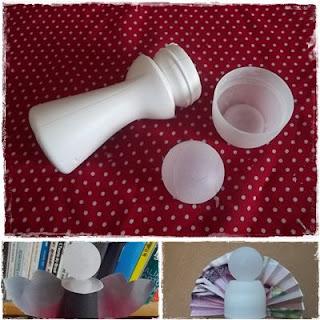 Artesanato com material reciclável