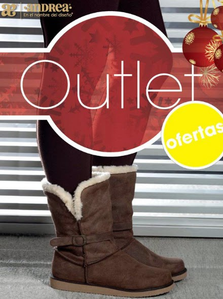 Catalogo Andrea outlet ofertas  otoño invierno 2014