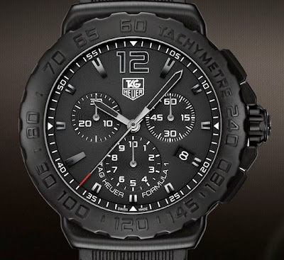 TAG HEUER FORMULA 1 BLACK TITANIUM CARBIDE