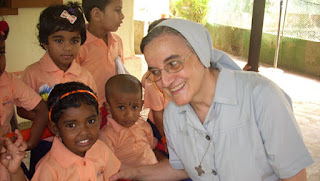 Misionera de la misericordia española en la India