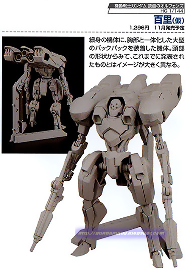 +Re:กันพลาเดือน 11/2015 HGUC 1/144 Gundam MK-II REVIVE,1/100 Gundam Barbatos,MG Gundam ORIGIN,HGBF Super Fumina,HG  Graze kai,HG Option Set 2