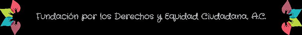 .: FUNDECI :. Fundación por los Derechos y Equidad Ciudadana, A.C.