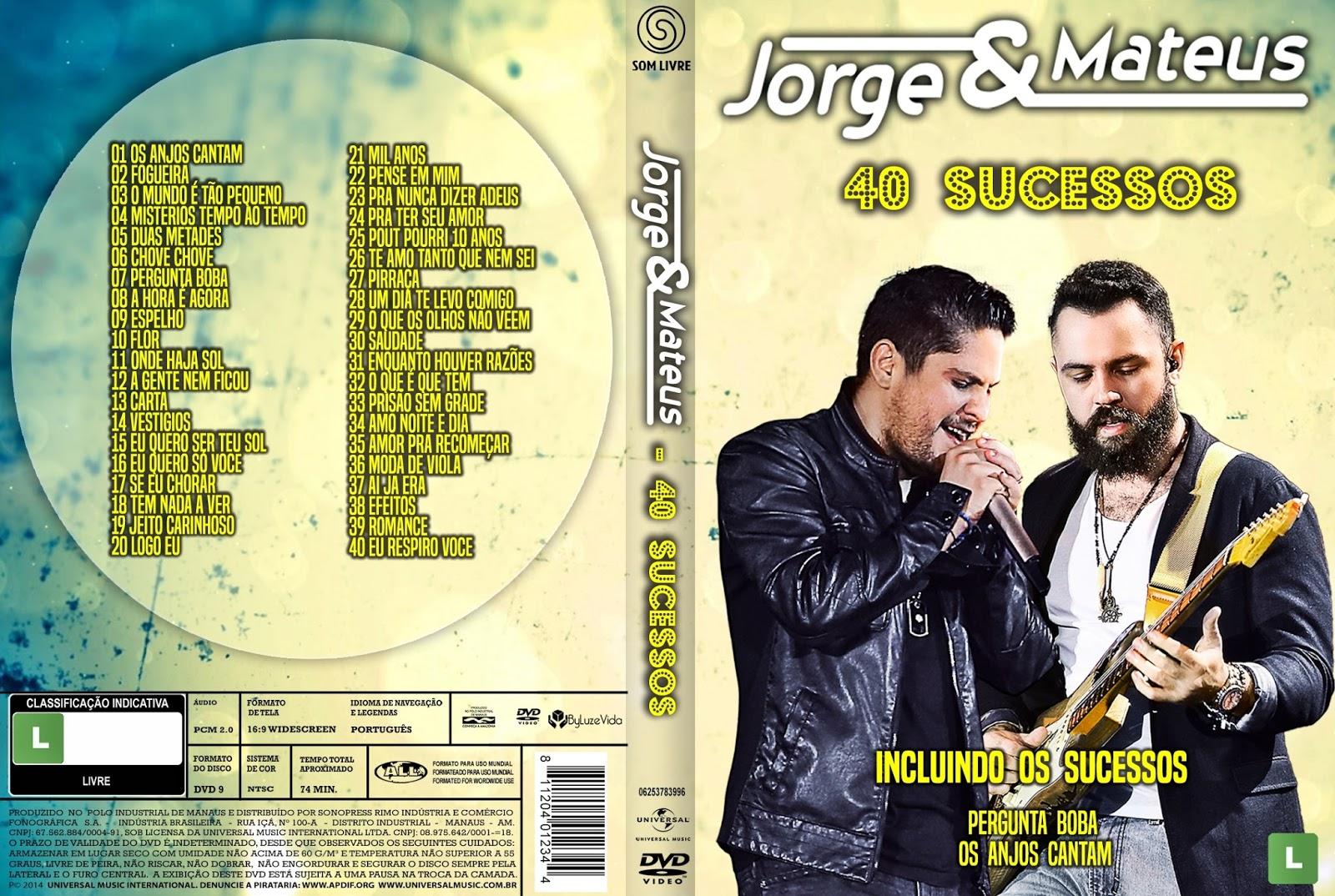 Jorge & Mateus 40 Sucessos DVDRip XviD 2016 Jorge 2B 2526 2BMateus 2B40 2BSucessos 2BDVD R 2BXANDAODOWNLOAD