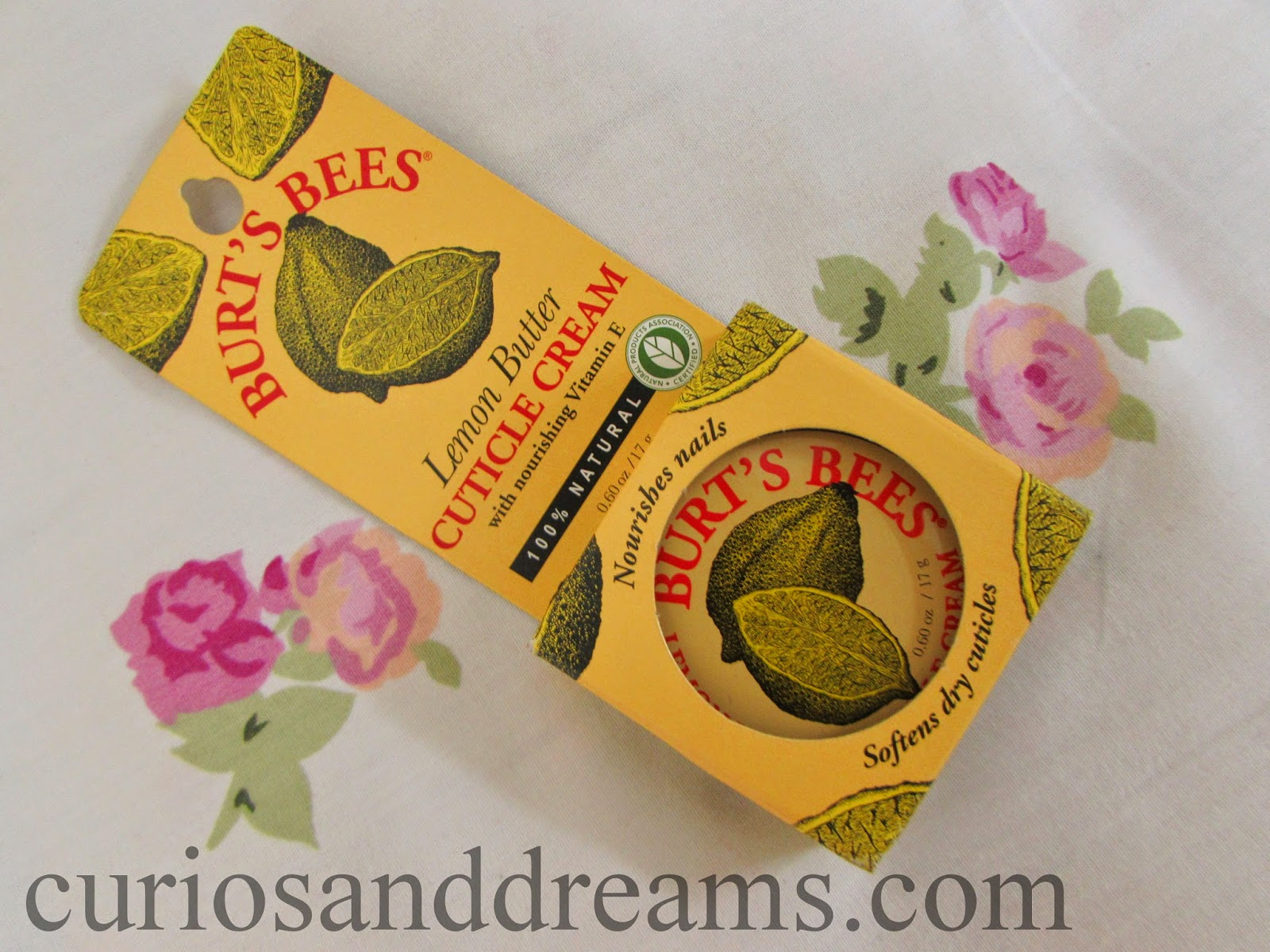 Burt's Bees Lemon Butter Cuticle Cream, Burt's Bees Lemon Butter Cuticle Cream review, Burt's Bees Cuticle Cream