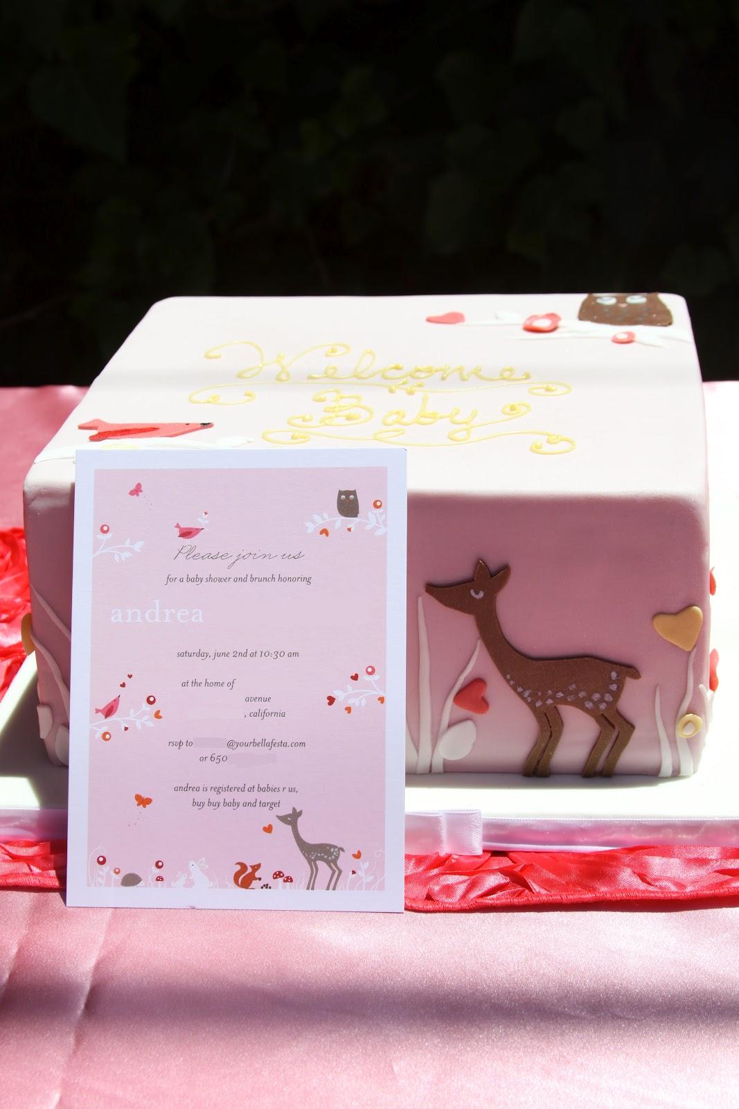Bella Festa: Forest Animals Baby Shower for Andrea