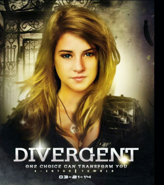 Divergent 2014 Movie Poster In HD