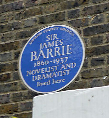 Britain's Blue Plaques Sir James Barrie