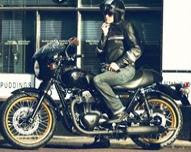 Kawasaki W800 - Cafe motorcycles edition