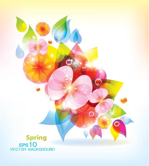 Download] Vektor Blossoming Glow Pattern - Download J-Drama, K-Drama ...
