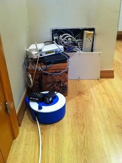 idea de cómo ocultar cables