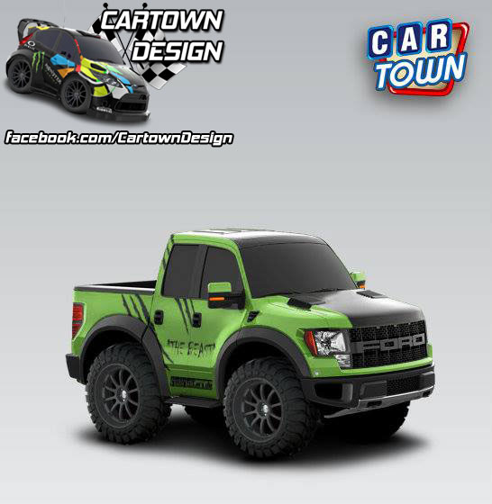 Ford F-150 SVT Raptor 2011 The Beast
