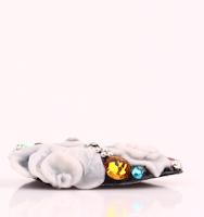 Handmade Nail tip, Swarovski & 3D Rose Nail parts Tips