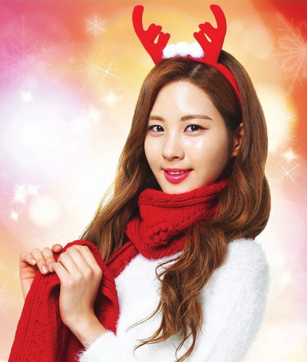 Seohyun SNSD Christmas Girl Photo