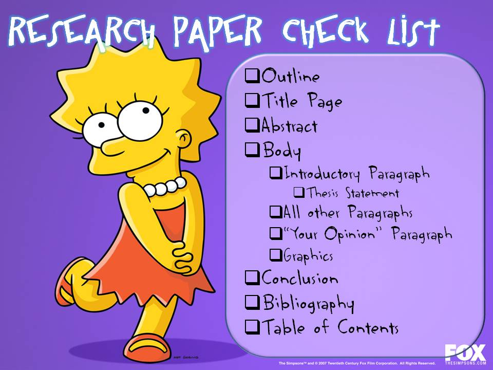 check research paper