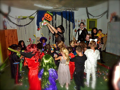 piñata halloween chuches sorpresas