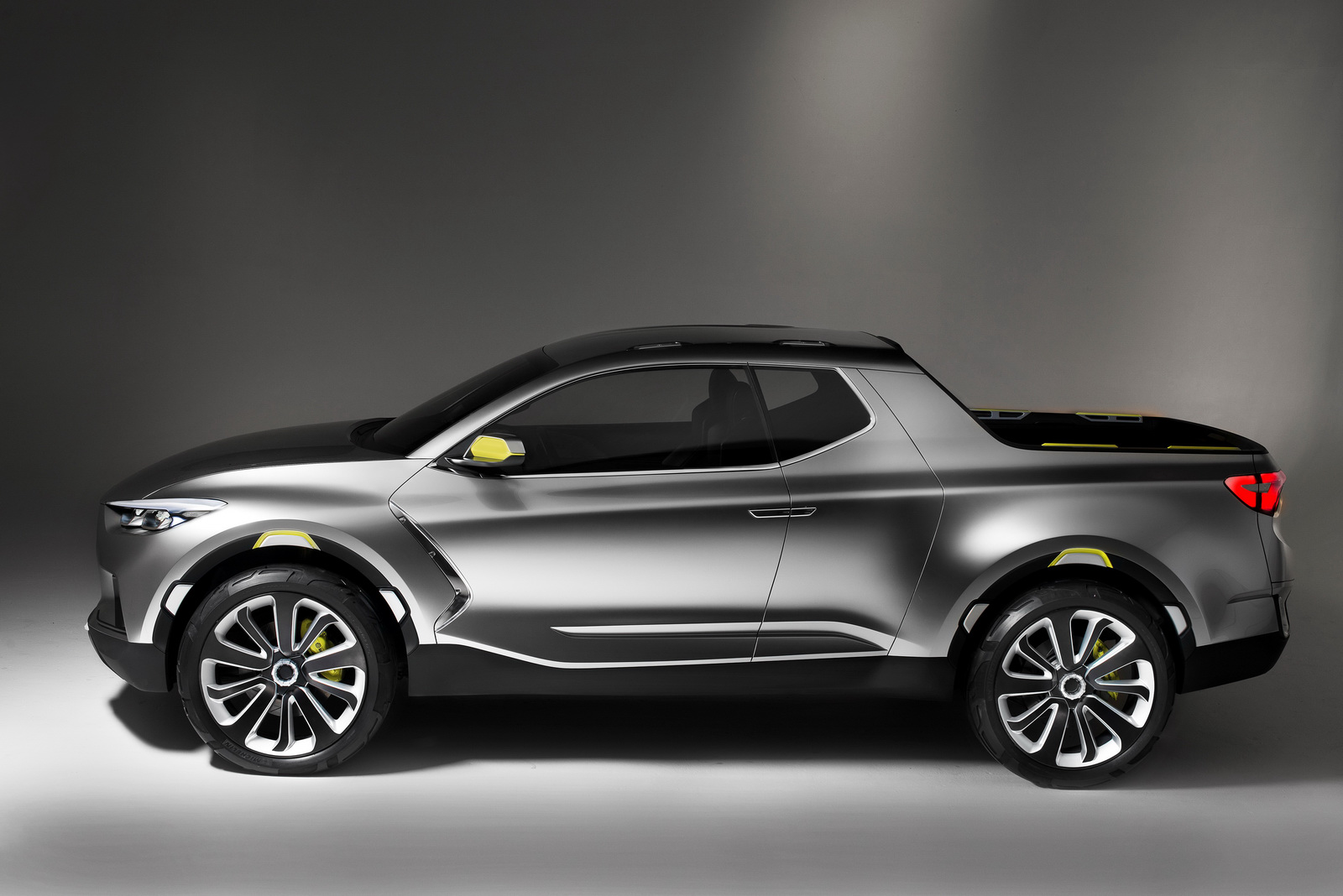 kia could create hyundai santa cruz based pickup truck carscoops. Black Bedroom Furniture Sets. Home Design Ideas