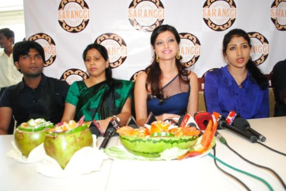 hamsa nandini spicy in blue skirt at food festival actress pics