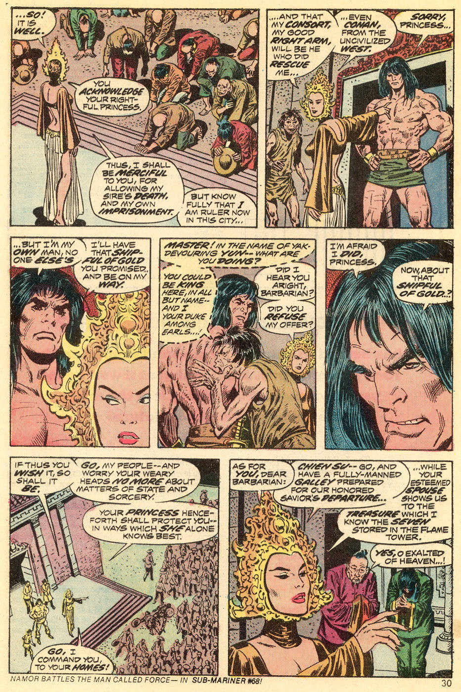 Conan the Barbarian (1970) Issue #34 #46 - English 18