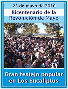 Imágenes del Bicentenario Popular en el Barrio Los Eucaliptus (Solano)