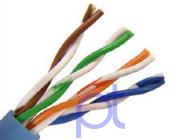 Color Code for CAT 5 Cable Connect with RJ45 Connector - PO TOOLS