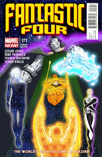 Fantastic Four - Cover - Marvel Comics - Cesare Asaro