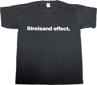 internet 2.0 social network adolfo dominguez barbra straisand el mundo today t-shirt ephemeral-t-shirtsΩ