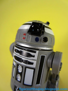 R2-Series Astromech Droid Grey with White and Black (The Black Series)