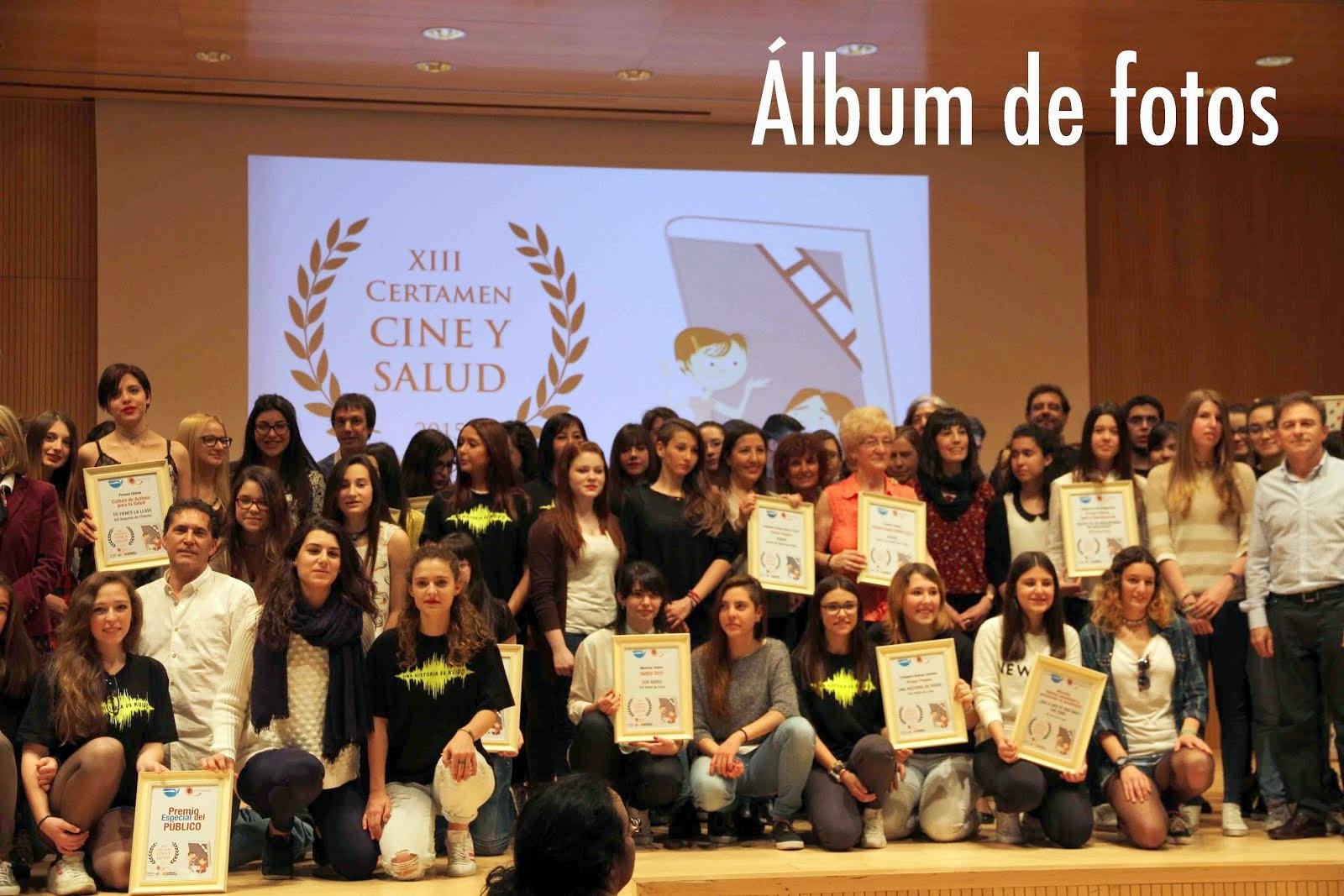 Álbum de fotos XIII Certamen Cine y Salud