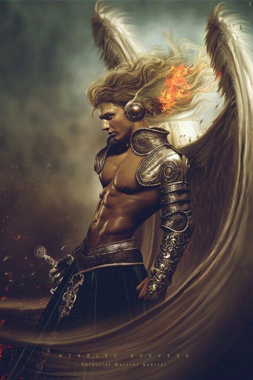 Carlos Quevedo deviantart foto-manipulações photoshop sombrio surreal fantasia mitologia anjos deusas