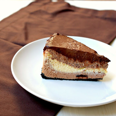 ... Bakes - There's always room for dessert!: Triple chocolate cheesecake