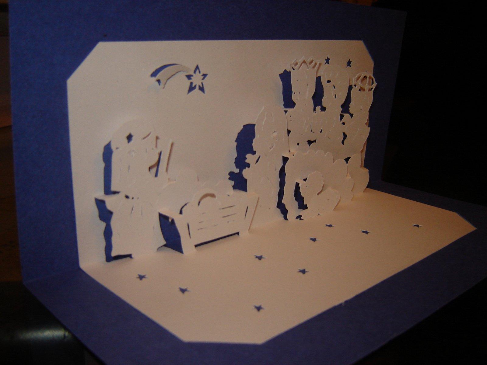 Kirigami de Claudia: Navidad