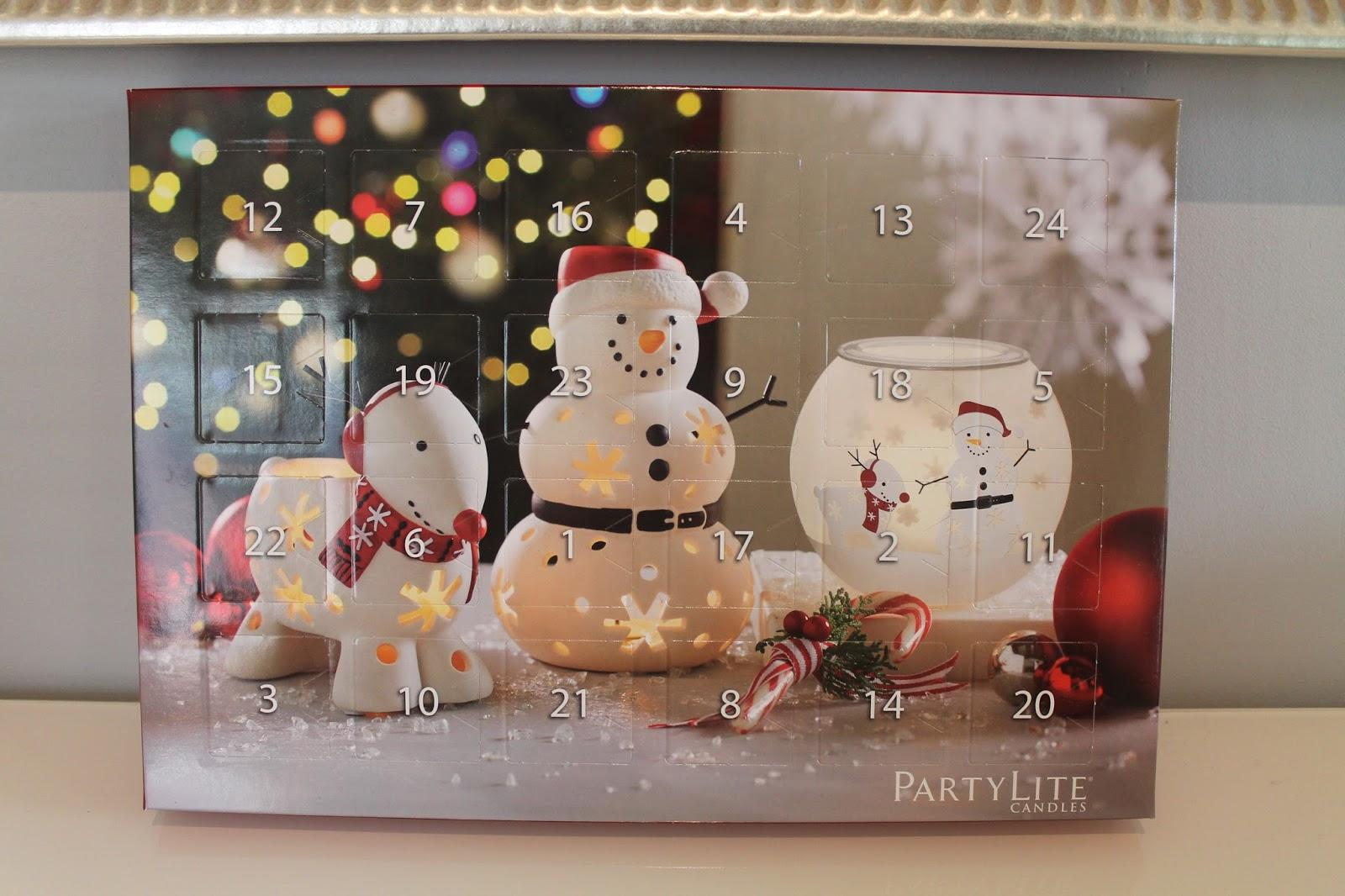 kynttilä joulukalenteri 2018 Sarin kotona: Partylite joulukalenteri ja muutakin! kynttilä joulukalenteri 2018