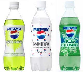 Pepsi Rasa Timun - 10 makanan paling aneh dari jepang