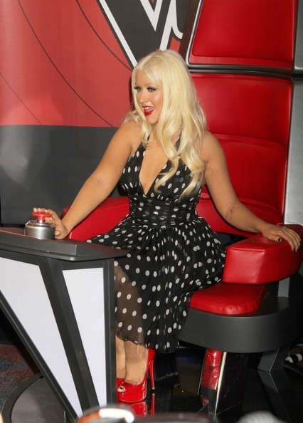 the voice christina aguilera 6 7 2011. Is The Voice judge Christina