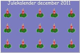 Download en interaktiv julekalender med julemusik