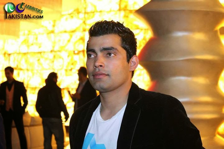 Pakistani Cricket Players At Cine Gold Plex
