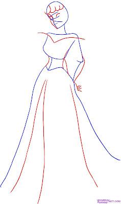 Desenhos Para Colori a Bela Adormecida, a princesa Aurora da disney desenhar