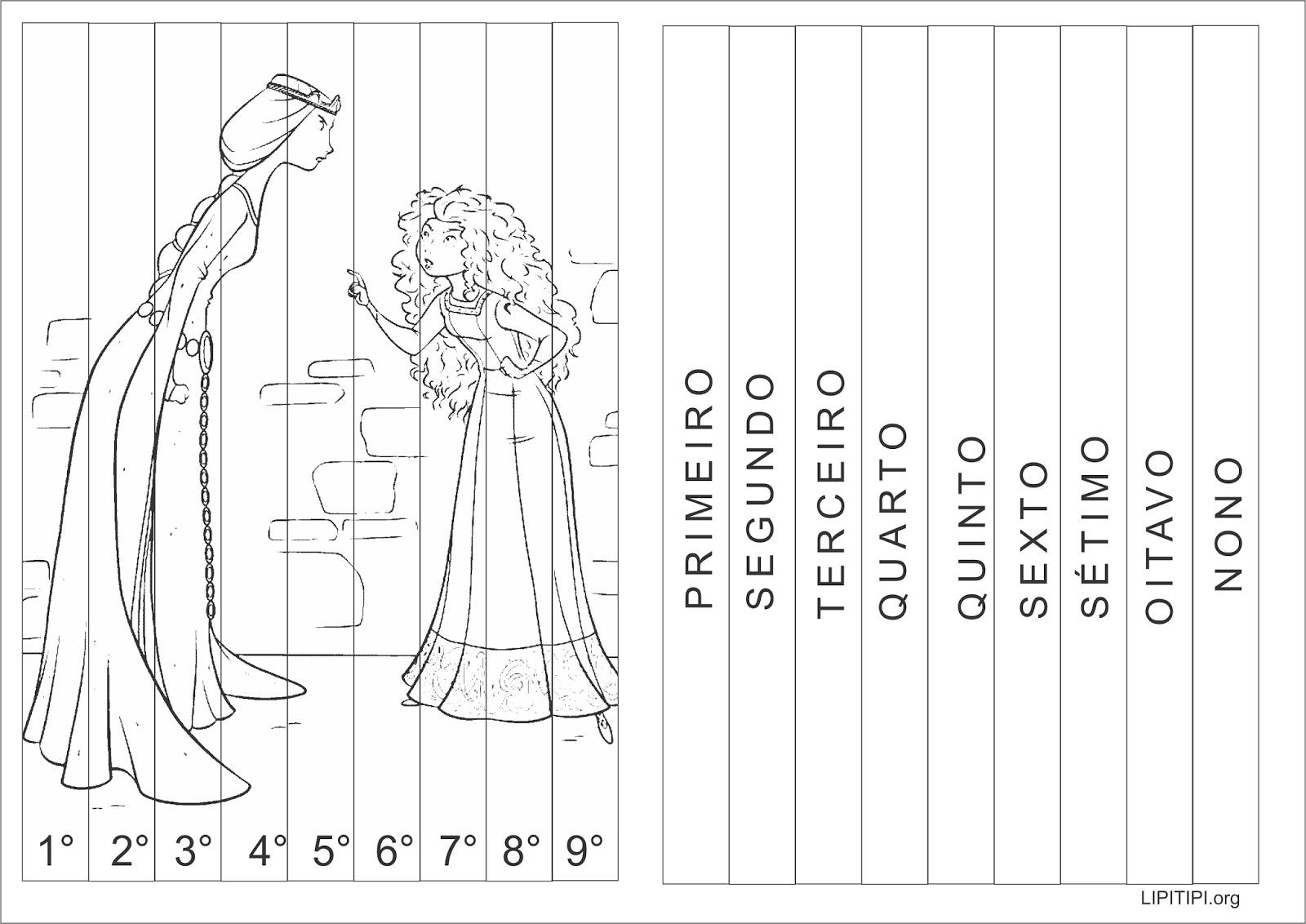 Atividade Lúdica Introdução aos  Números Ordinais
