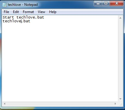 How to write a virus using notepad