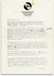 A carta de John para Paul e Linda
