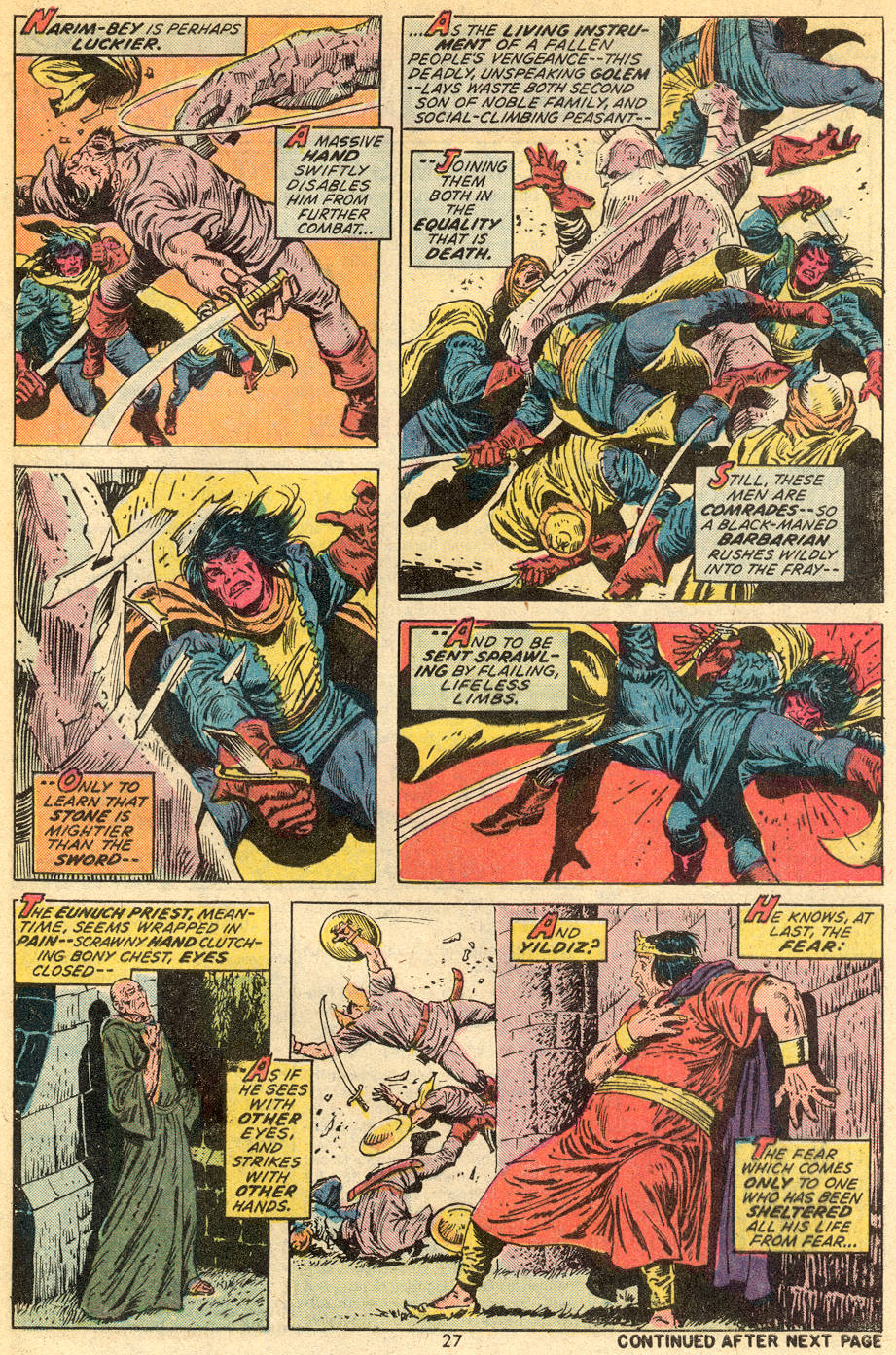 Conan the Barbarian (1970) Issue #36 #48 - English 16