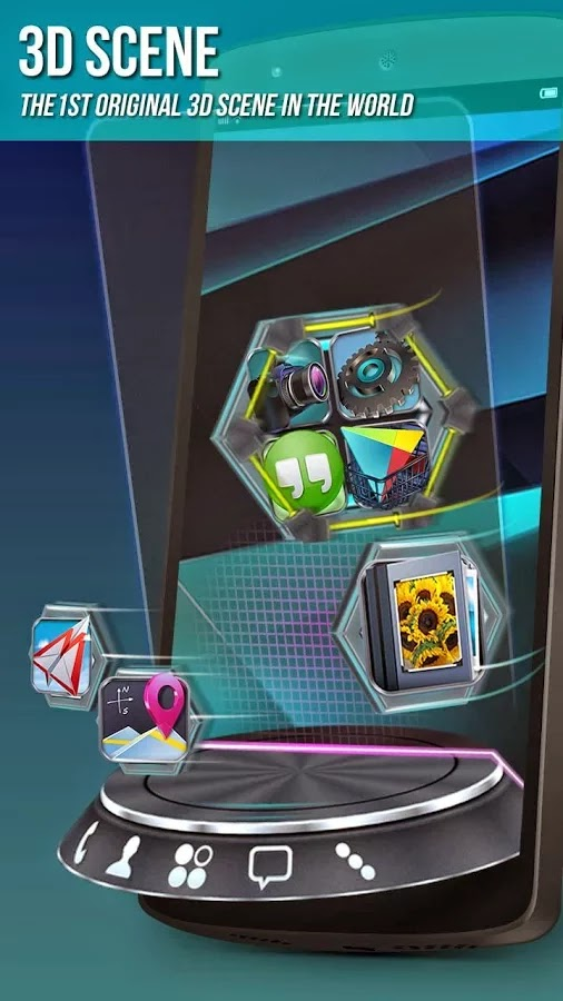 Next Launcher 3D Shell v3.09 Patched
