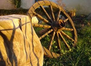A roda...
