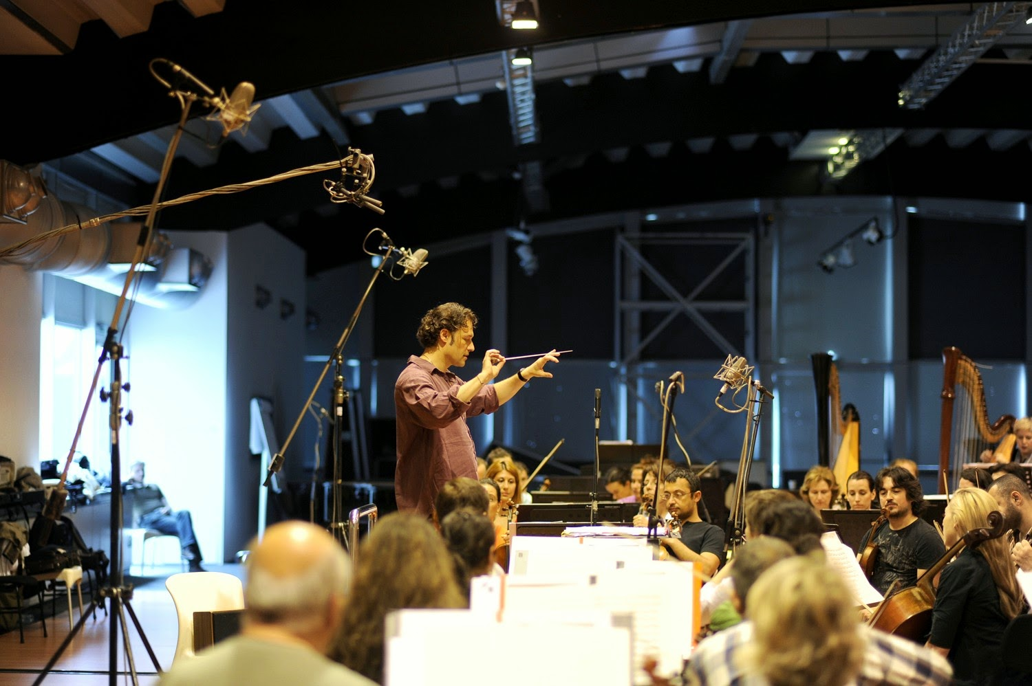 Sascha Goetzel and Borusan Istanbul Philharmonic Orchestra recording their second CD