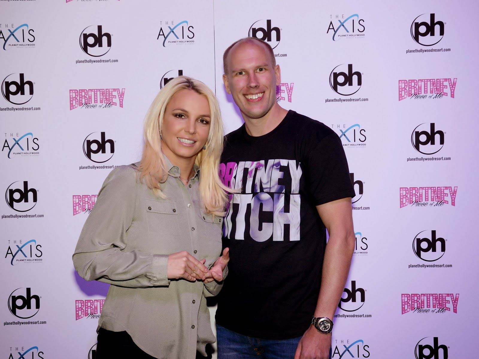 Together were better britney bitch andr torgersen 31 accomplishes yet another dream on his usa trip meeting britney spears kristyandbryce Choice Image