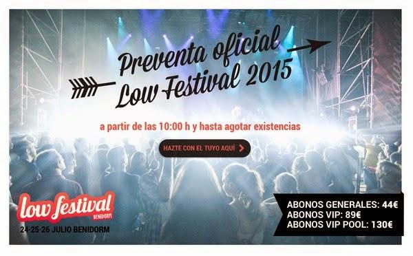 Low Festival lanza la campaña oficial de venta de abonos para la edición 2015