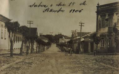 RUA XV DE NOVEMBRO EM 1906