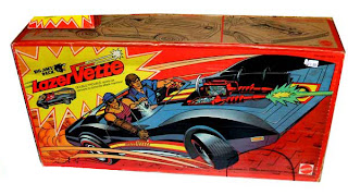 Mattel's Big Jim PACK LaserVette vehicle