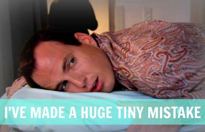 arrested development, gob bluth, huge mistake